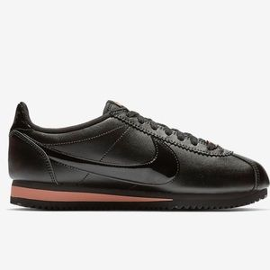 b50f943fd4dd3 Nike Shoes | Cortez Leather Tonal Blackrose Gold | Poshmark
